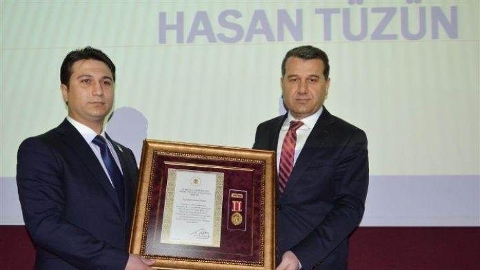 Batmanlı Gaziye Devlet Övünç Madalyası Verildi