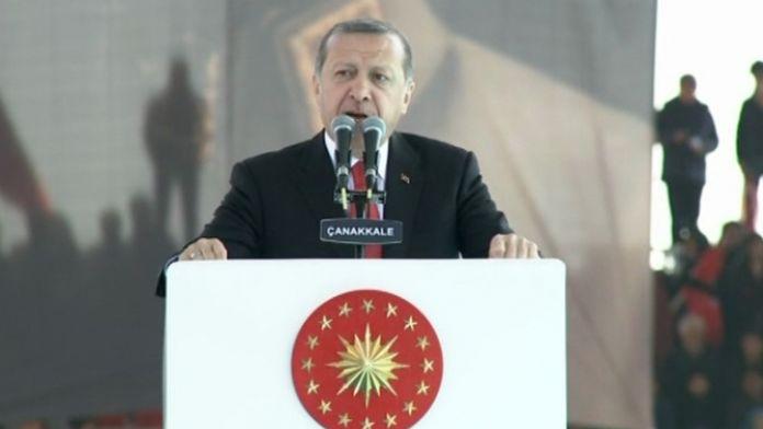 Erdoğan'dan Avrupa ülkelerine sert tepki