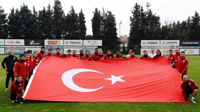 Galatasaray Çanakkale Zaferi'ni andı