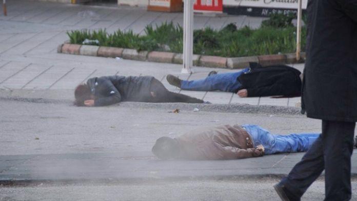 Başkent'te sokak ortasında infaz!