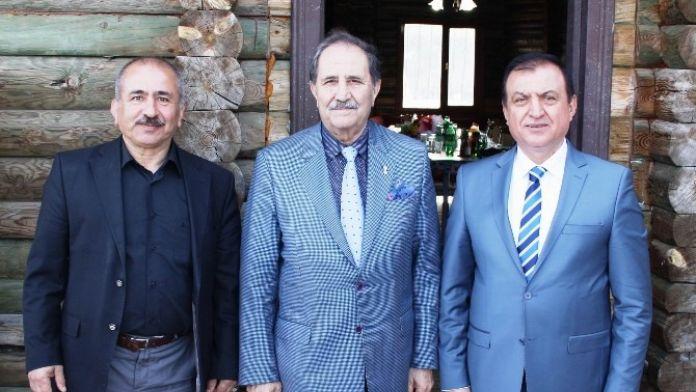SESOB Başkanı Köksal, Yıldızeli Esnaf Odası'nı Ziyaret Etti