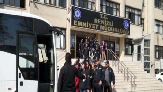 Denizli'de Terör Örgütüne Yönelik Operasyonda 5 Kişi Tutuklandı