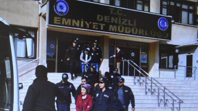 Denizli'de PKK operasyonu şüphelileri adliyede
