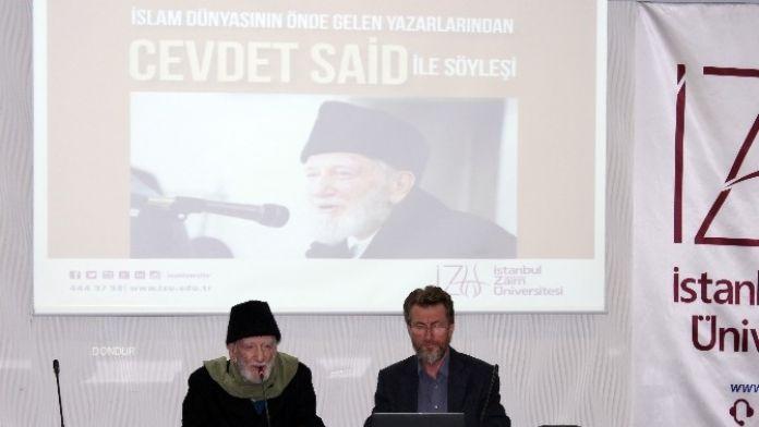 Cevdet Said: 'Savaşın Ve Şiddetin Dönemi Bitmiştir, Şiddet İnsanların Fıtratına Aykırıdır'