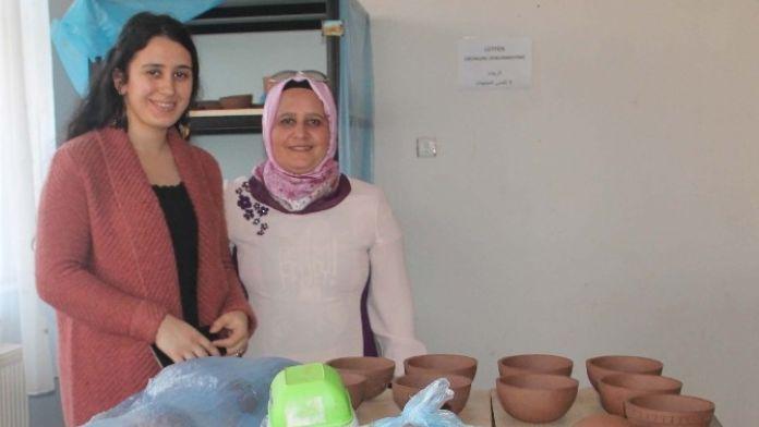 Harran'lı Kadınlar Üretime Katılıyor