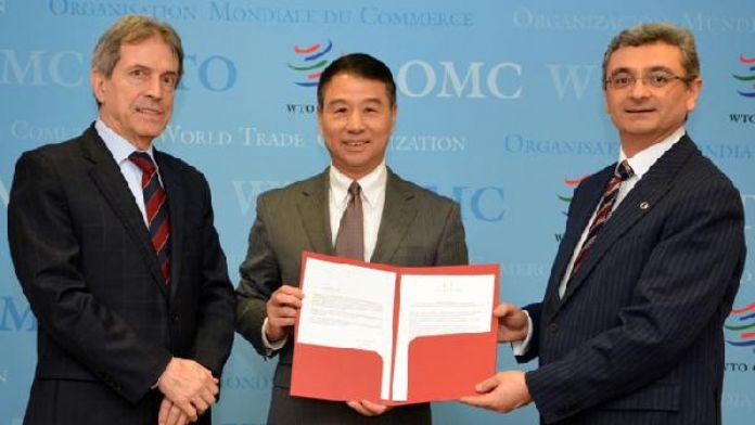 Türkiye DTÖ Ticaretin Kolaylaştırılması Anlaşması'nı kabul etti
