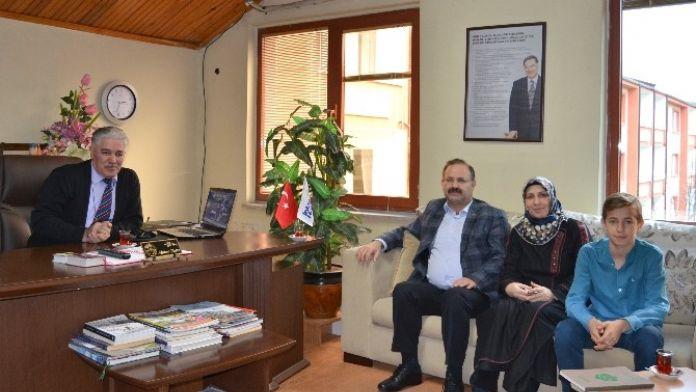 Erzurum Milletvekili Deligöz, Kuzuluk Kaplıcalarını Ziyaret Etti