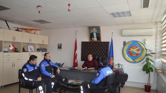 Türk Hava Kurumu Şubesine Ziyaret