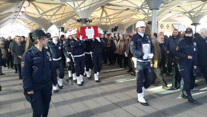 Polis memuru Cengiz son yolculuğuna uğurlandı