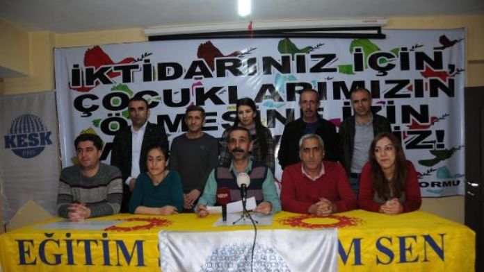KESK üyelerinden nevruz ve sokağa çıkma yasağı açıklaması