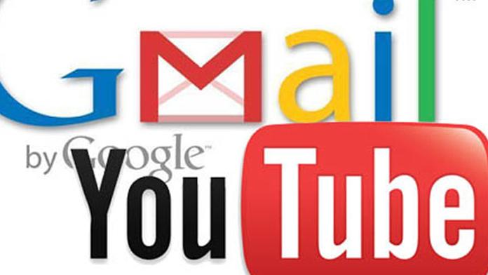 Gmail, Google ve Youtube çöktü