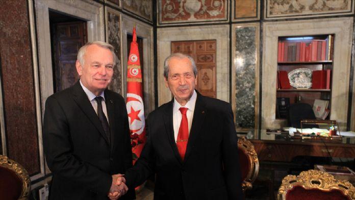 Fransa Dışişleri Bakanı Ayrault'un Tunus ziyareti