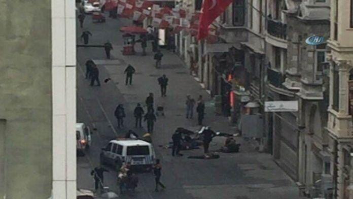 İstanbul'da patlama: 2 ölü