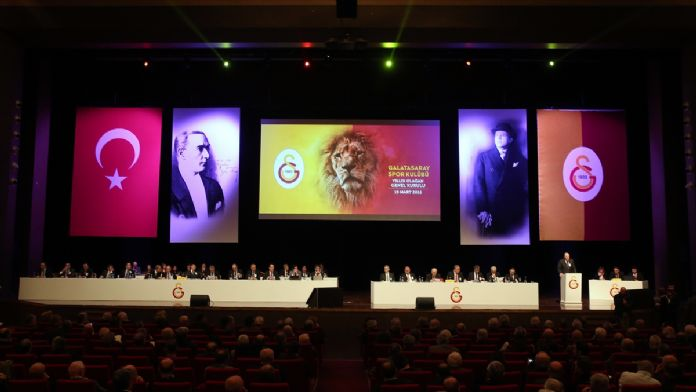 Galatasaray Kulübünün mali kongresi