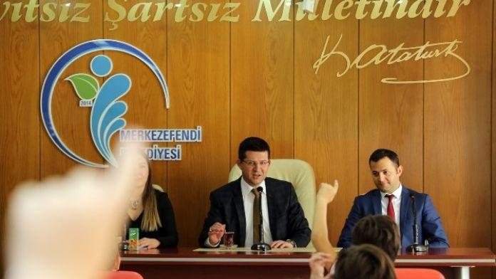 Başkan Subaşıoğlu Öğrencilerin Sorularını Yanıtladı