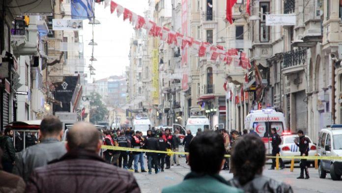 İstanbul'da terör saldırısı: 5 ölü, 20 yaralı