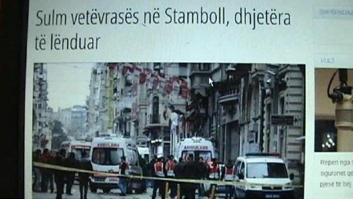 Kosova basını: Terör saldırısı Türkiye'yi ve dost ülkeleri bir kez daha derinden üzdü