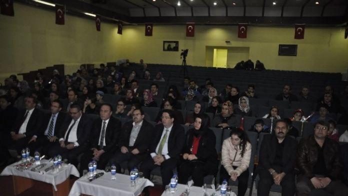 Aksaray'da 'Şehit Vatan Demektir' Programı