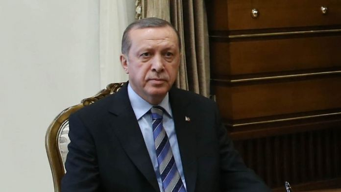 Erdoğan Zarif'i kabul etti