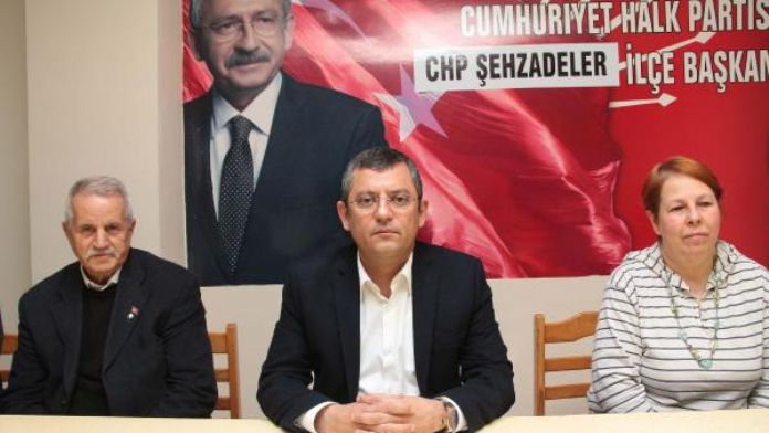 CHP'li Özel: Sersemce bu ülkeyi yönetmeye çalışan birileri bu işi beceremiyorlar