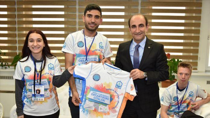 Bursa'da 'Uluslararası Oryantiring Günleri' başladı