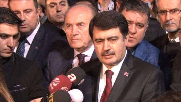 Vali Şahin terör saldırısında yaralananları ziyaret etti