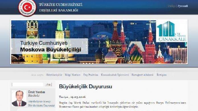 Türkiye'den Rusya'ya 'taziye'....
