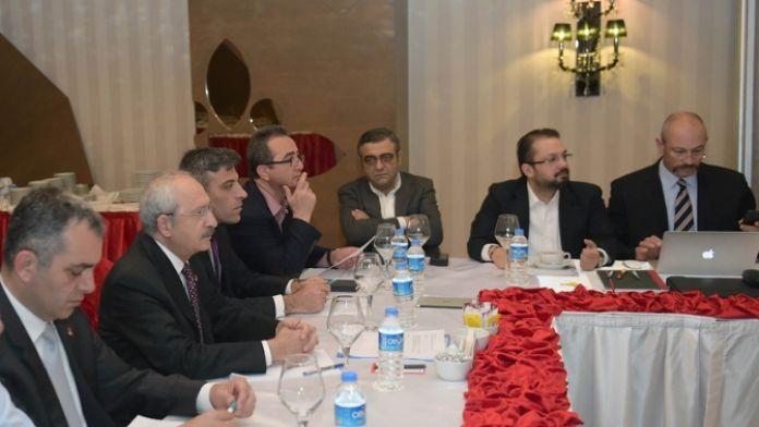Kılıçdaroğlu 'Ortadoğu ve Türkiye' programına katıldı