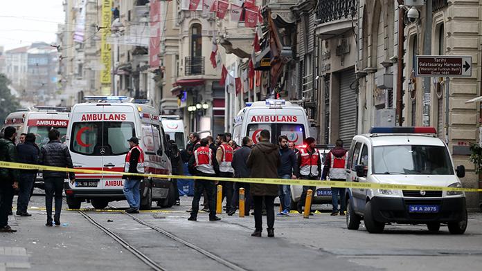 'İstiklal' bombacısının kimliği kesinleşti