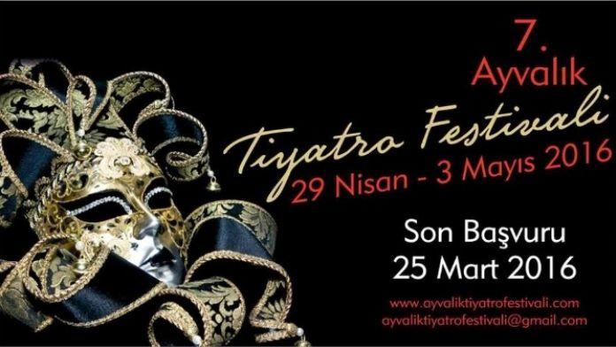 Ayvalık Tiyatro Festivali İçin Son Başvuru Tarihi; 25 Mart