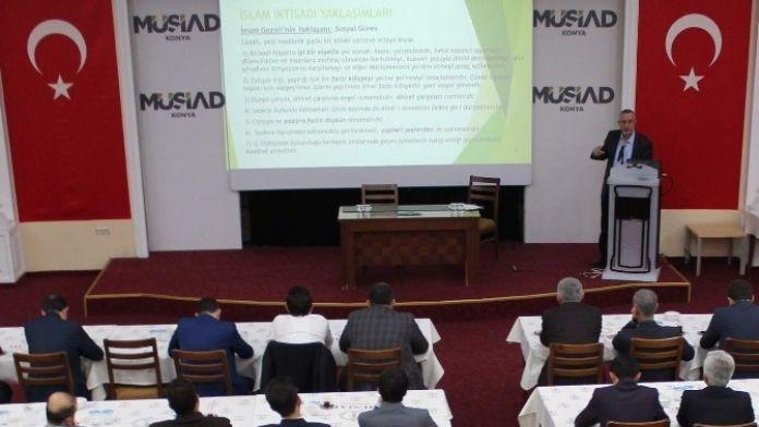 MÜSİAD Konya Şubesi'nde Konferans