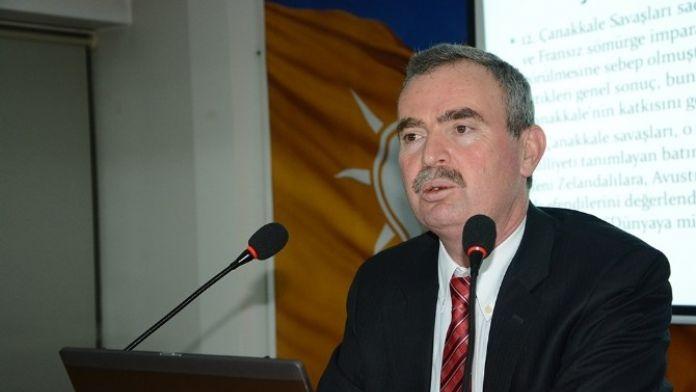 Afyonkarahisar'da '101. Yılında Çanakkale Ruhu' Konferansı