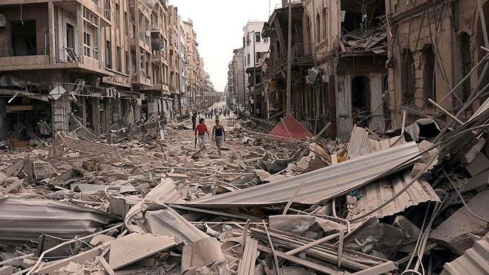 Suriye'deki iç savaş ve Türkiye'deki terör saldırılarına tepki