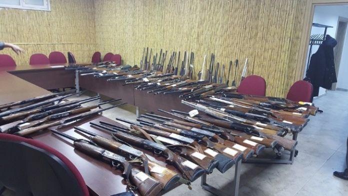 El Konulan Av Tüfekleri İhale Yolu İle Satıldı