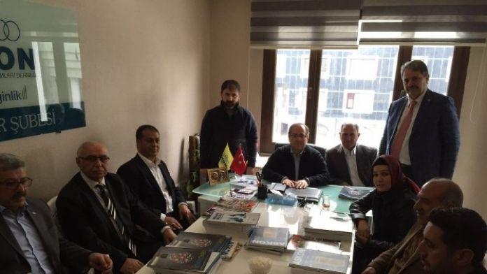 ASKON Diyarbakır Şubesi Genişletilmiş İstişare Toplantısı Yaptı