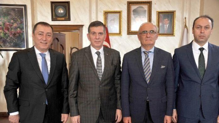 Başkan Yılmaz'a Bursa Daveti
