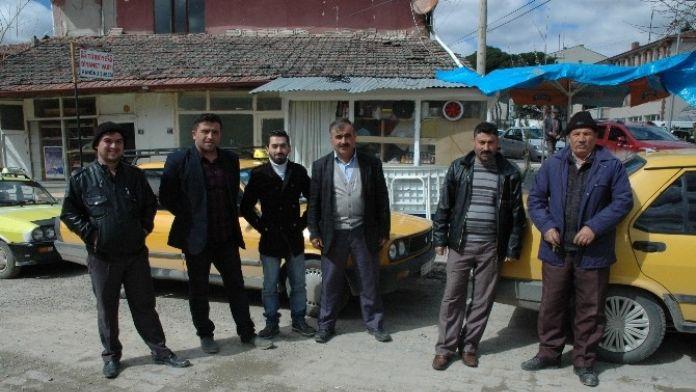 Hanönü'de Taksici Esnafı Belediyeden Durak İstiyor