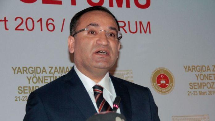 Adalet Bakanı'ndan partilere 'dokunulmazlık' çağrısı