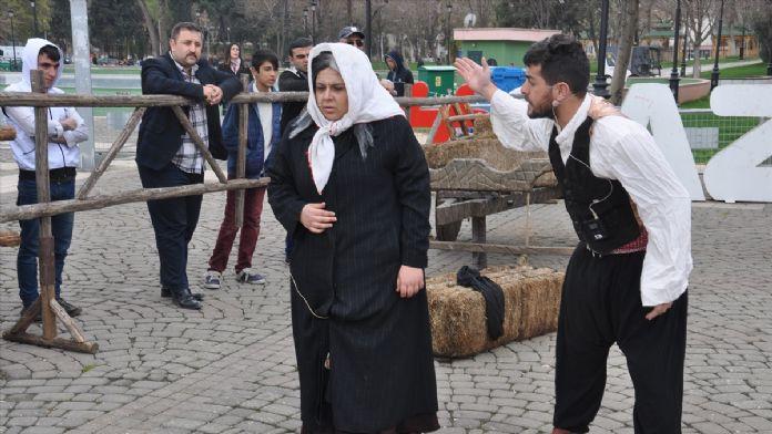 'Çanakkale Platosu' Gaziantep'te sahnelendi
