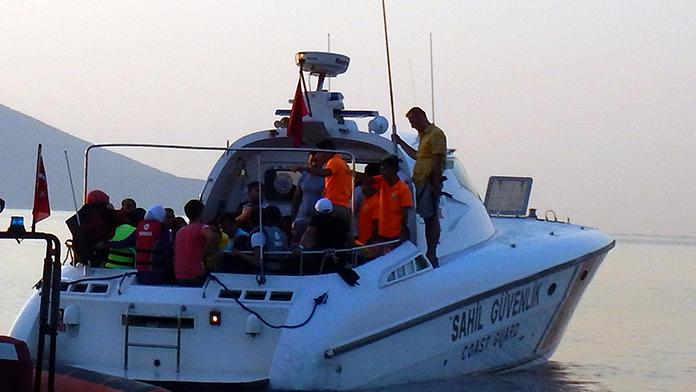 Türk göç uzmanları Yunan adalarında