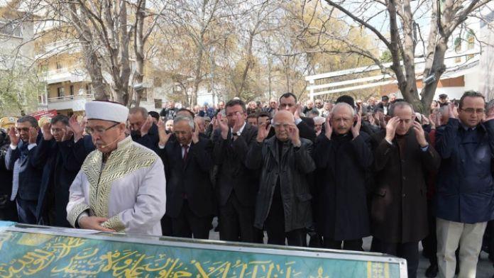 Kılıçdaroğlu cenaze töreninde
