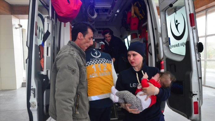 Karaman'da ambulansla otomobil çarpıştı: 6 yaralı