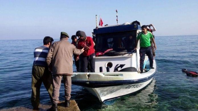 Aydın'da 143 Kaçak Göçmen Yakalandı