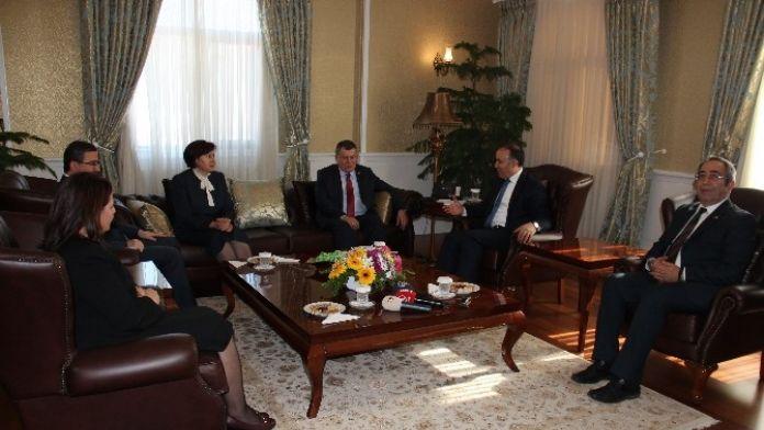 Yargıtay Ve Danıştay Başkanlarından Vali Altıparmak'a Ziyaret