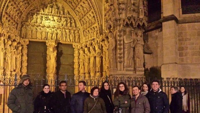 Aziziye Kaymakamlığı Proje Ofisi Fransa'dan Döndü