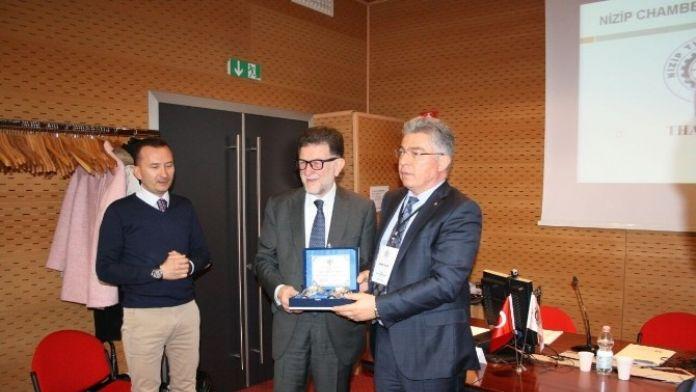 Nizip Ticaret Odası Heyeti İtalya Pazarını Keşfediyor