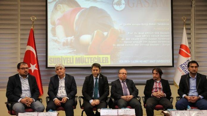 Suriyeli Mülteciler Ve Avrupa Değerleri Paneli