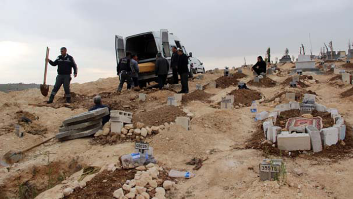 Canlı bomba köy mezarlığına kabul edilmedi
