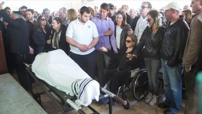 Beyoğlu'ndaki terör saldırısında ölen İsrailliler toprağa verildi