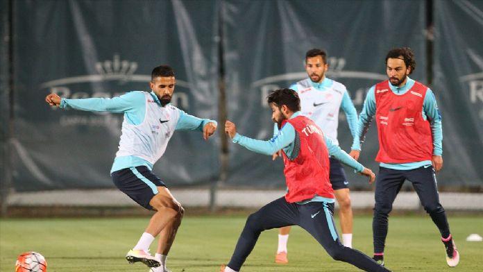 A Milli Futbol Takımı, hazırlıklarına başladı